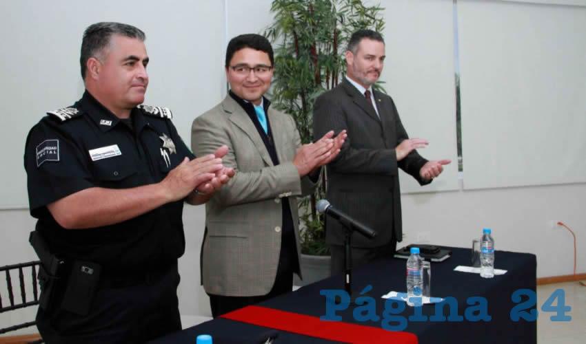 El taller expuso los protocolos de actuación como primer respondiente ante la comisión de un crimen