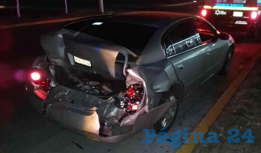 El vehículo que embistió el peligroso conductor Miguel Ángel Castillo