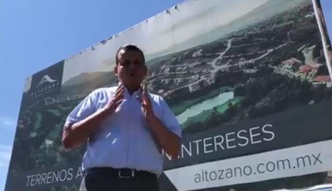 Exalcalde Denuncia Residencia de 15 mdp de Ochoa Reza en Exclusiva Zona de Morelia