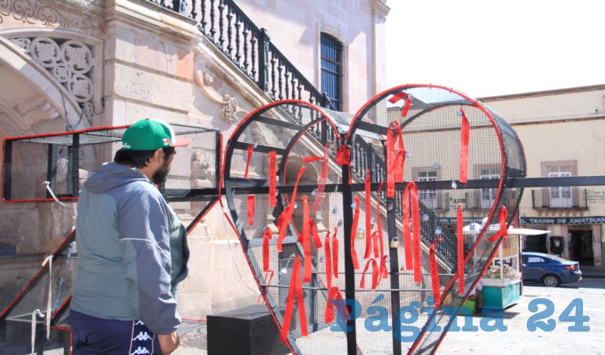 Zacatecanos Dejan Muestras de Amor