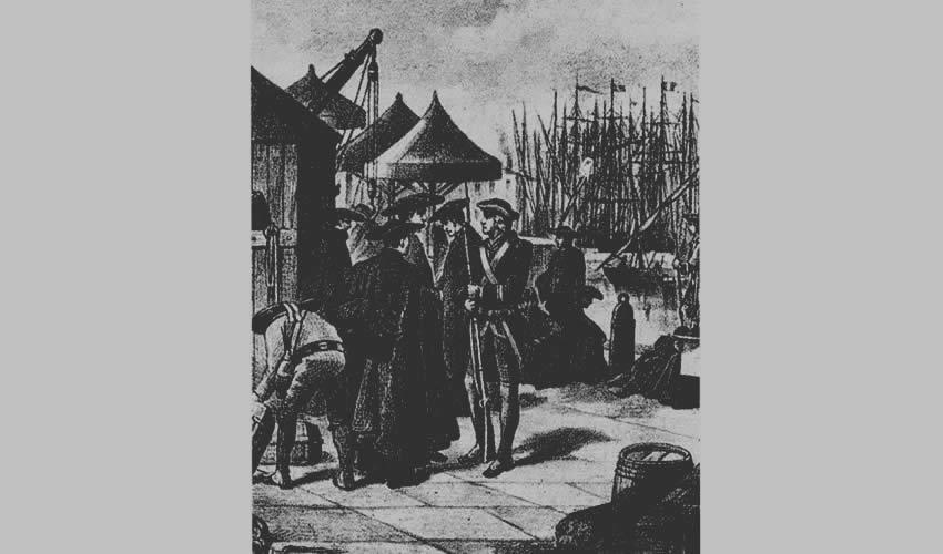 Expulsión de los jesuitas en Veracruz (tomado de alcolonial.wordpress.com)