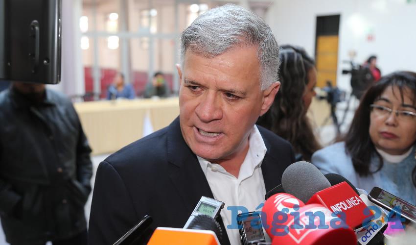José Ángel González Serna, presidente del PFNSM