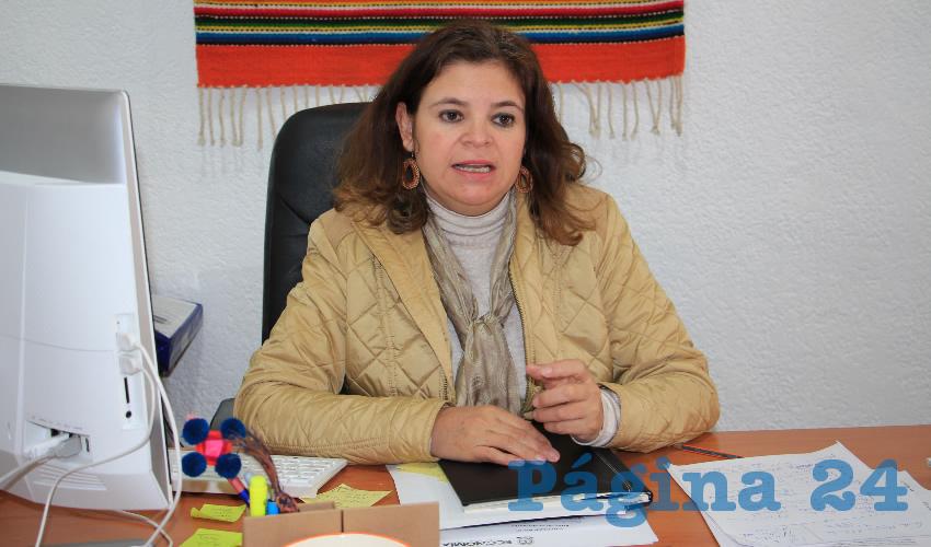 Elvira Campos Álvarez, titular de la Subsecretaría de Desarrollo Artesanal: Recalcó que muchos artesanos del estado, han destacado a nivel nacional por su trabajo en diversas ramas como la platería y la cantera, y han ganado diversos concursos nacionales. (Foto: Archivo Página 24)