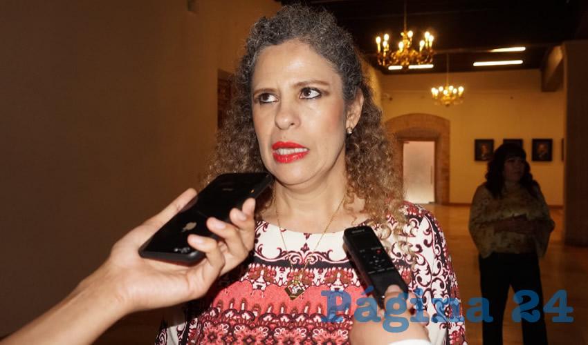 """Paula Rey Ortiz, titular de la Secretaría de la Función Pública (SFP): """"Estamos tratando de atender todas esas quejas aunque no todas entren en las atribuciones que tengamos para sancionar, como el caso de faltas a la Ley de Tránsito"""". (Foto: Merari Martínez Castro)"""