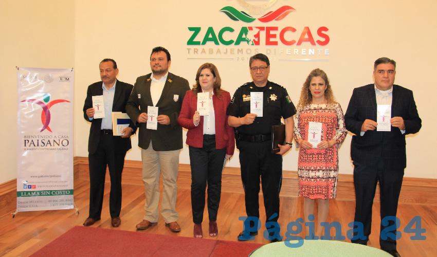 """José de Jesús Vega Ordoñez, delegado del Instituto Nacional de Migración en Zacatecas: """"Es muy importante para Zacatecas seguir captando la llegada de nuestros paisanos y atenderlos como se merecen"""". (Foto: Rocío Castro)"""