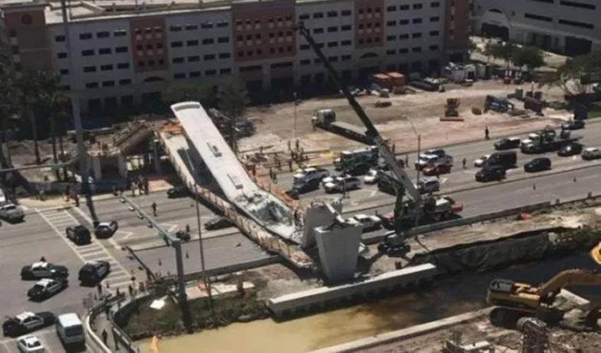 Suman Seis Muertos por el Colapso de Puente en Miami