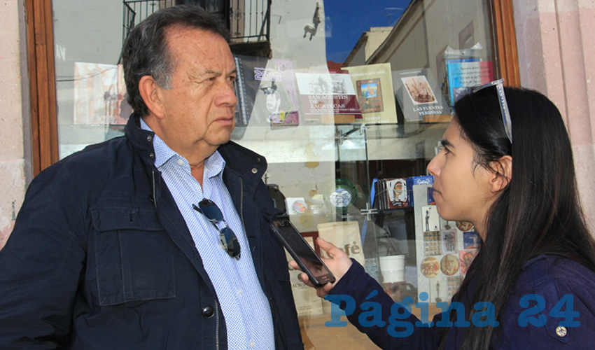 Hoy Zacatecas es Territorio Fértil Para el Crimen Organizado: M. A. Aguilar
