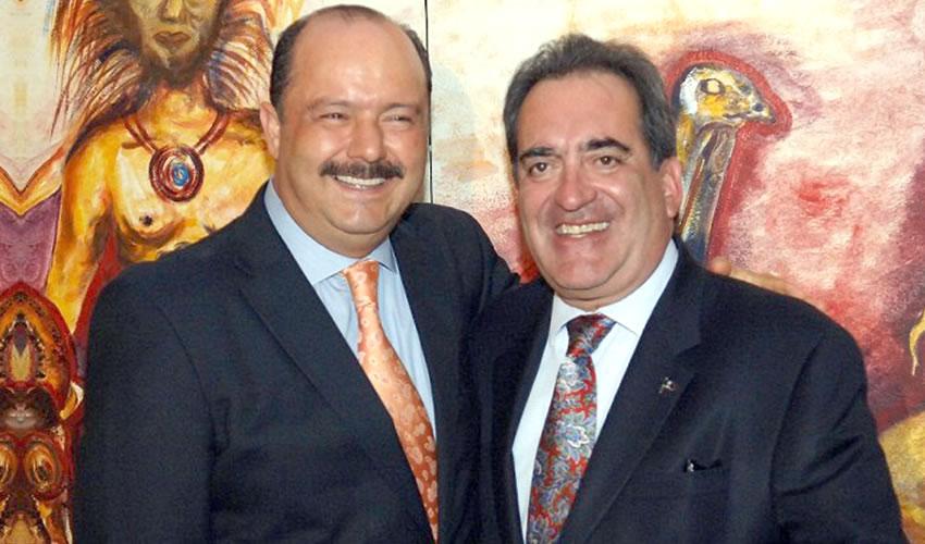 César Duarte Jáquez y Carlos Lozano de la Torre ...cacos de siete suelas ¿impunes?..