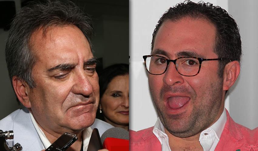 Carlos Lozano de la Torre y José Carlos Lozano Rivera Rio ...el millonario junior intenta seguir los pasos de su padre...
