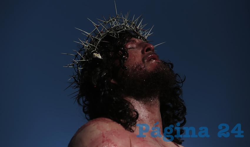 """Reviven la """"Pasión de Cristo"""" en San Pedro Tlaquepaque"""