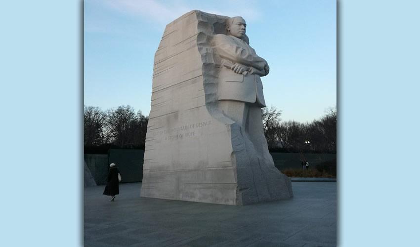 Monumento a Martin Luther King Jr., en Washington, D.C. (Foto: Daniela Itzel Domínguez Tavares)
