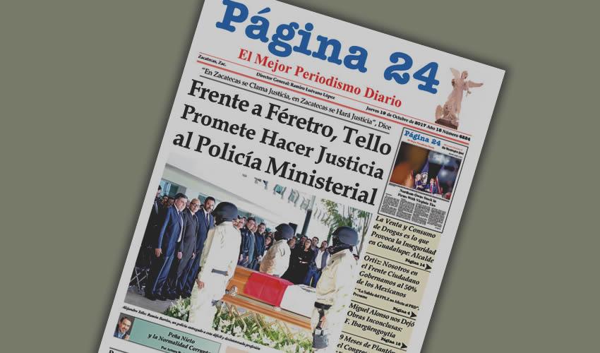Ni a su gente, el gobernador Alejandro Tello le hace justicia; el narco lo tiene de rodillas