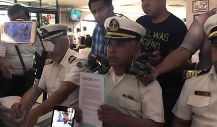 La Marina Mercante Declara su Apoyo a AMLO