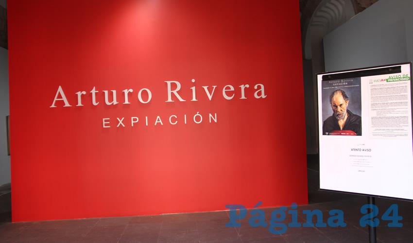 """Ex Templo de San Agustín Presenta """"Expiación"""", de Rivera"""