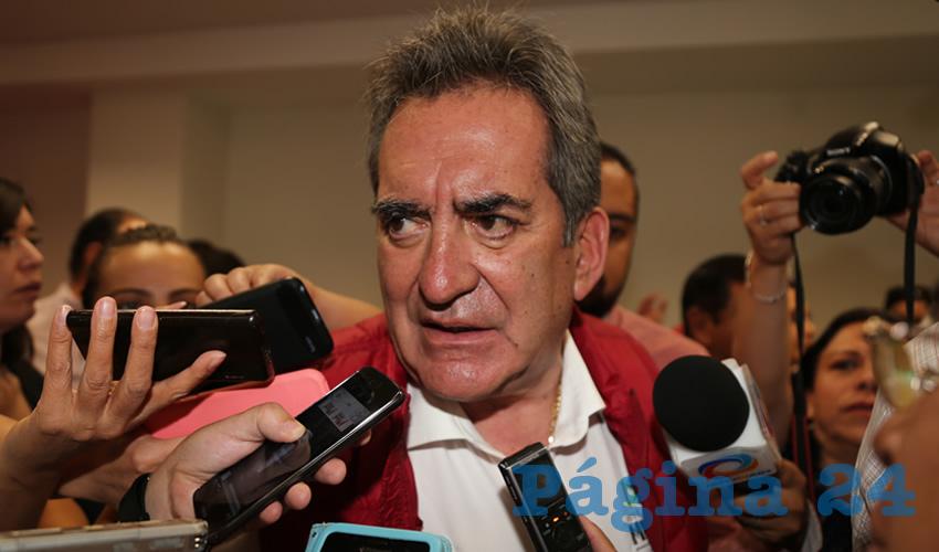 Carlos Lozano de la Torre, exgobernador del Estado