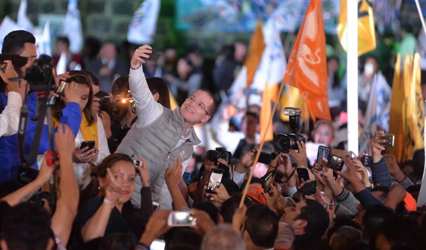 En Edomex, Anaya no Continuó con las  Amenazas de Encarcelar a Peña Nieto