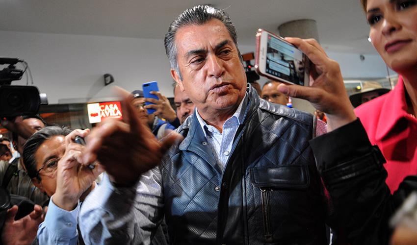 """""""Bronco"""" Demandará al INE  por Acusarlo """"Injustamente"""""""