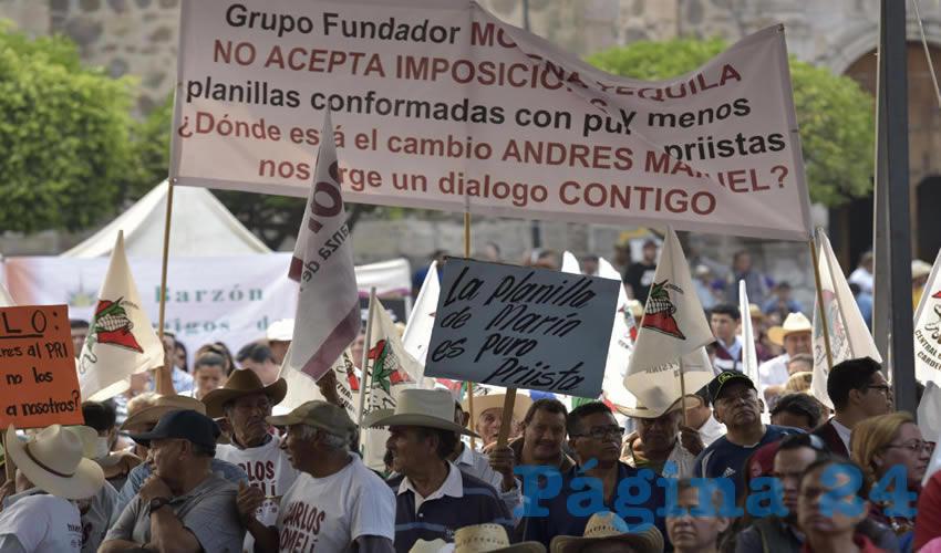 """""""Si tú no Quieres al PRI,  ¿por qué nos lo Impones?"""",  Reclaman a López Obrador"""