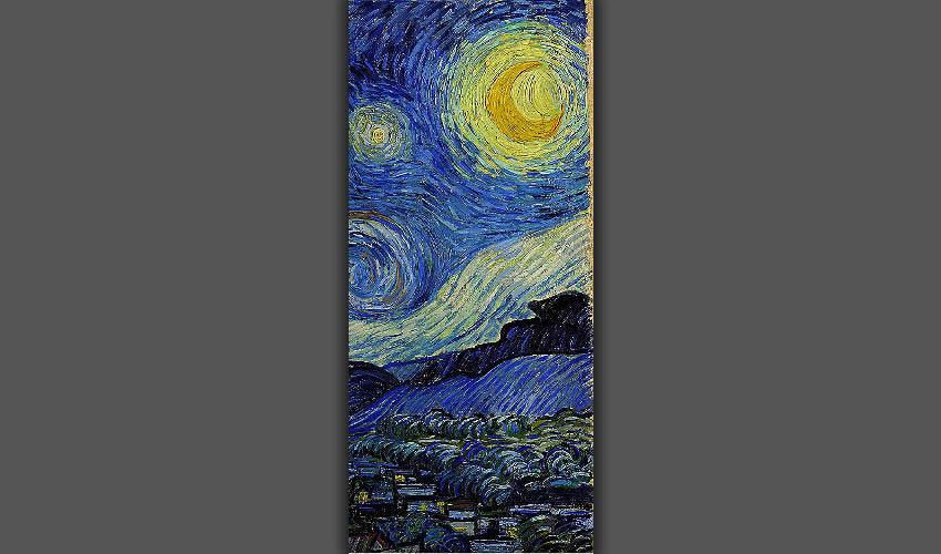 """""""La noche estrellada"""" (fragmento), de Vincent Van Gogh"""