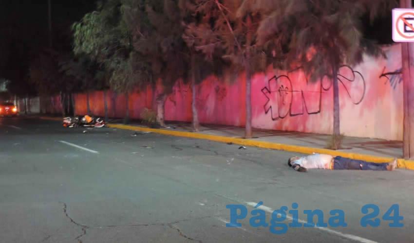 Sobre avenida Ignacio T. Chávez murió Mauricio Camil Terrones