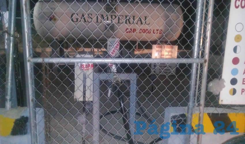 Clausuran Centro de Carburación de Gas Imperial, en San Francisco de los Romo