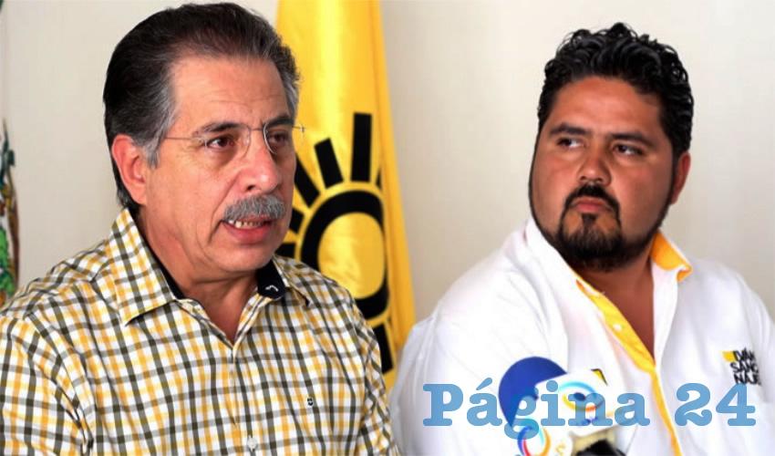 Jesús Ortega e Iván Sánchez Nájera