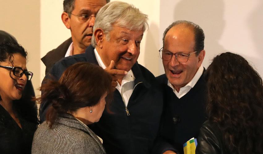 Tenancingo, Estado de México.- López Obrador consideró la probabilidad de construir el NAIM, sólo se lo financia la iniciativa privada (Foto: Misael Valtierra/ Cuartoscuro)