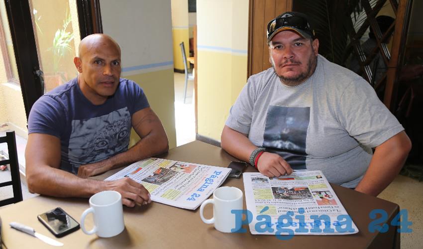 En Los Antojos de Carranza compartieron el pan y la sal César Montoya Torres y Carlos Alberto Colunga González