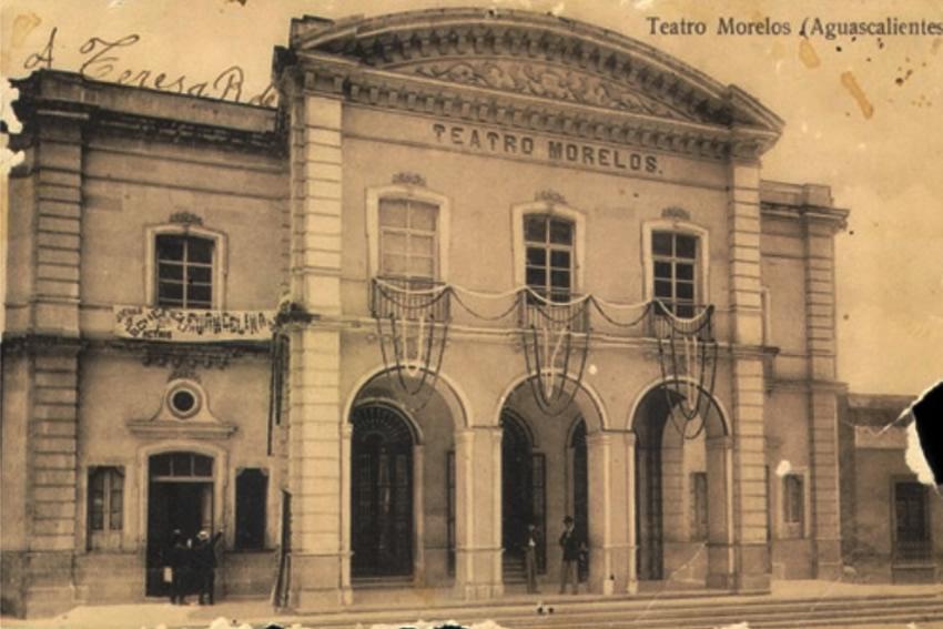 Teatro Morelos, Ca. 1910 (Fuente: AHEA, Fondo Demetrio Rizo Mora, 007)