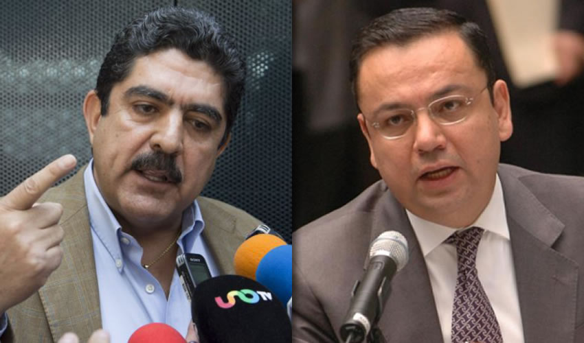 Manuel Espino Barrientos y Germán Martínez Cázares ...dos expresidentes nacionales del PAN, ya están con AMLO...