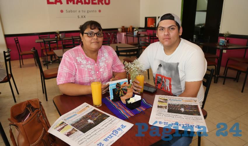 En el restaurante La Madero Almorzaron Norma Angélica Ramírez Acosta y Jorge Ángel Loyola Ramírez