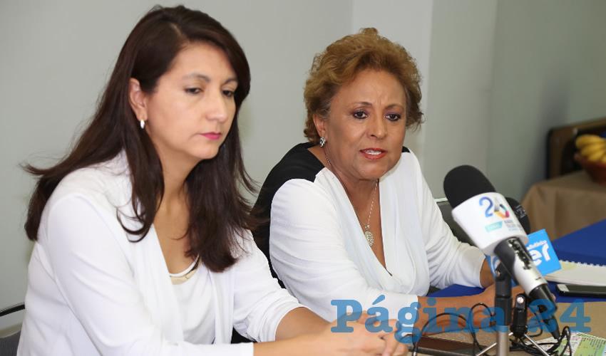 Bertha Dora Quezada Sánchez, presidenta de la fundación Familiares de Alzhéimer Aguascalientes AC (Foto: Eddylberto Luévano Santillán)