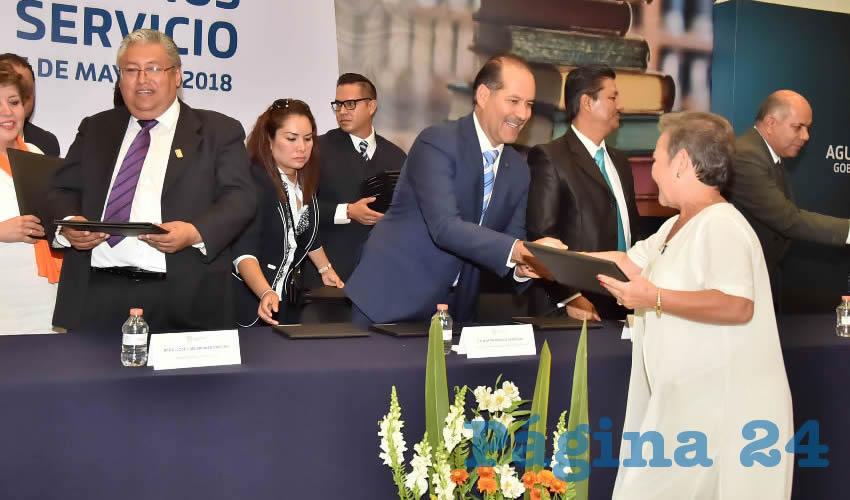 El gobernador Martín Orozco Sandoval asistió a los festejos por el Día del Maestro 2018, en honor a la gran labor que realizan a diario por la calidad educativa en el estado