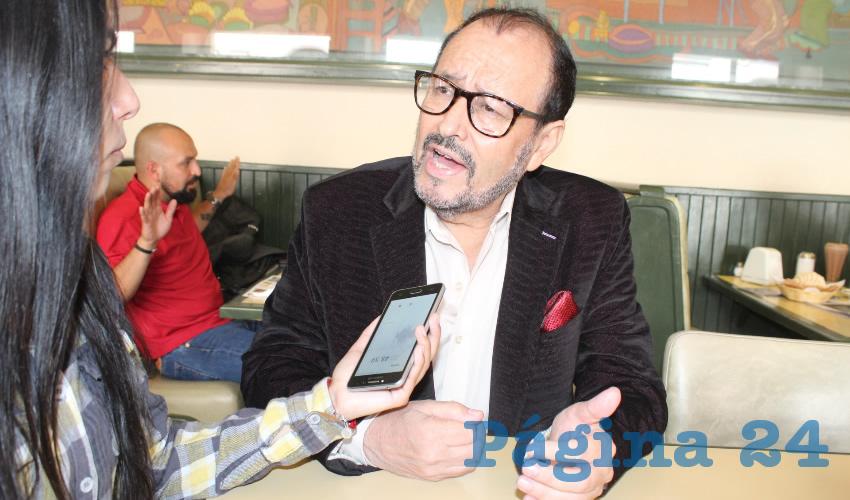 """Jaime Enríquez Félix, presidente del Frente Cívico Zacatecano: """"El gobierno del estado es un gobierno de inútiles..."""" (Foto: Merari Martínez)"""