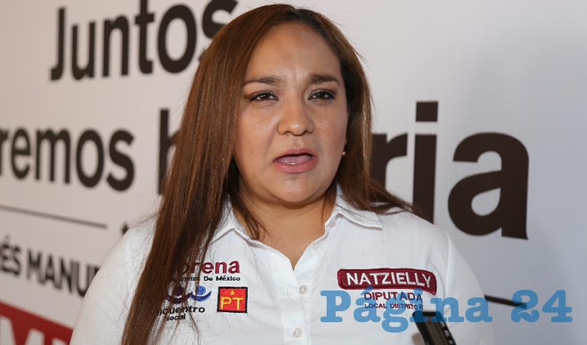 Resultado de imagen para imagenes de la diputada Natzielly Rodríguez Calzada