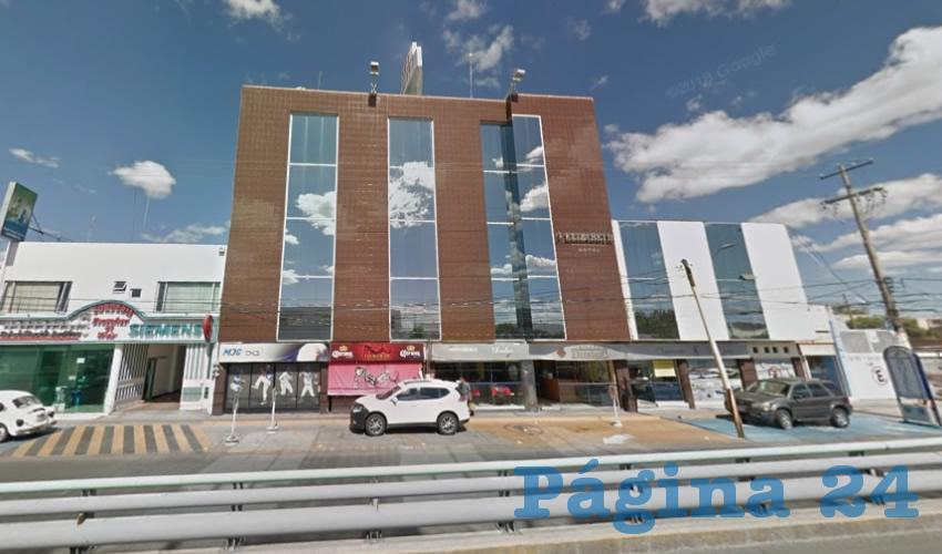La víctima, llena de pavor, se escondió por órdenes de los vivales en el Hotel Elizabeth, cerca de la Central Camionera