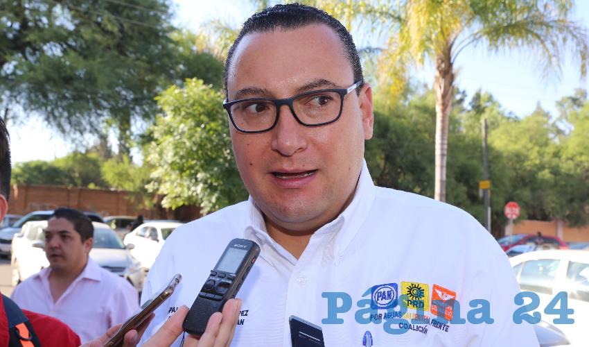 Las Denuncias Mediáticas son la Estrategia de los Partidos de Oposición: Paulo Martínez