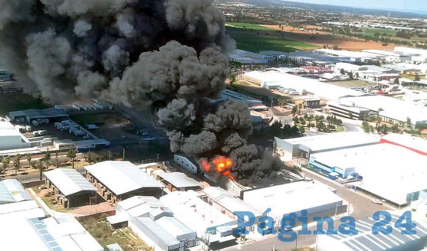 Sofocan Incendio en el PIVA