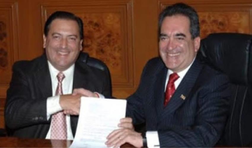 Luis Armando Reynoso Femat y Carlos Lozano de la Torre ...supo arrastrarse, fingir lealtad y amistad...