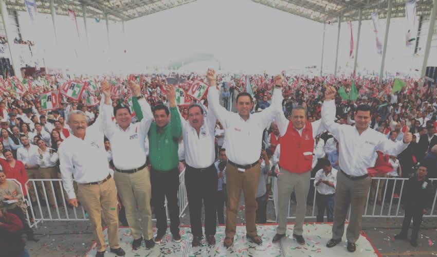 Alejandro Tello Cristerna en Campaña: