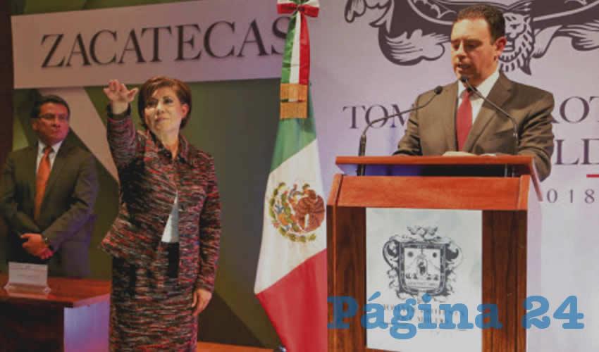 Judit Guerrero López y Alejandro Tello Cristerna, cadena de mentiras