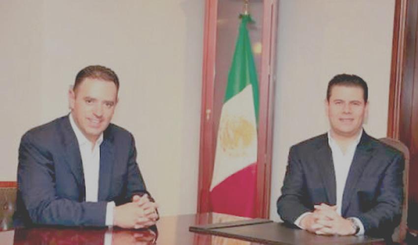 Alejandro Tello Cristerna y Miguel Alonso Reyes: le quedaron muy grandes los zapatos