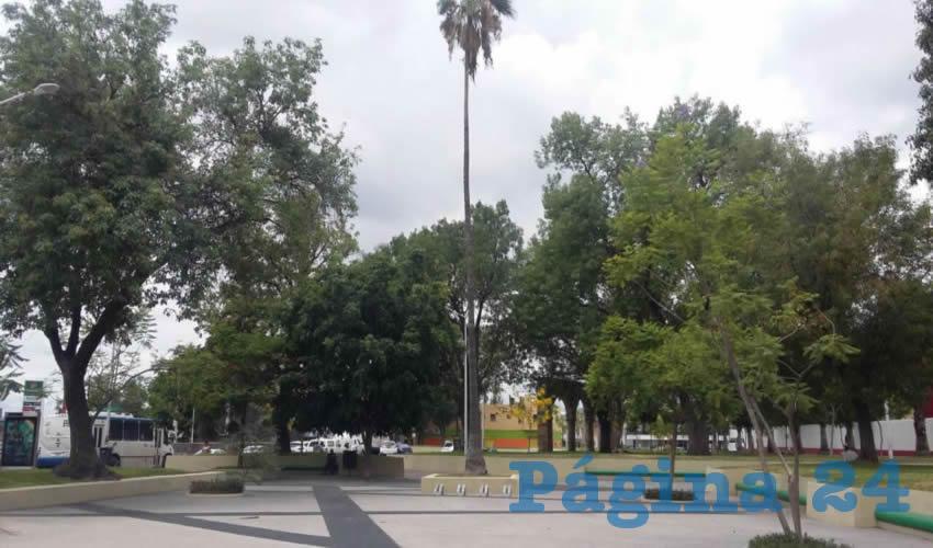 Justo a un lado de una estación de la CFE, en Plaza de la Bandera, tres personas, entre ellas un menor de edad, se instalaron en Plaza de la Bandera; además de colocar una casa de campaña pusieron incluso un columpio con una llanta y una soga/Fotos: Francisco Tapia
