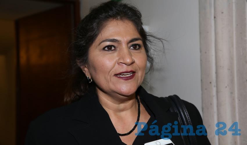 Nora Ruvalcaba Gámez, coordinadora estatal de Redes Sociales Progresistas a favor de AMLO