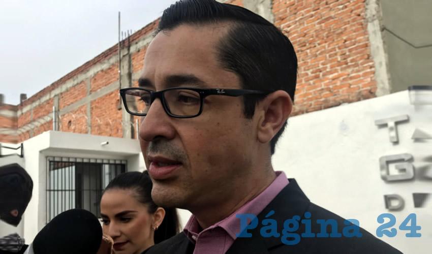Luis Fernando Landeros Ortiz, presidente del Instituto Estatal Electoral