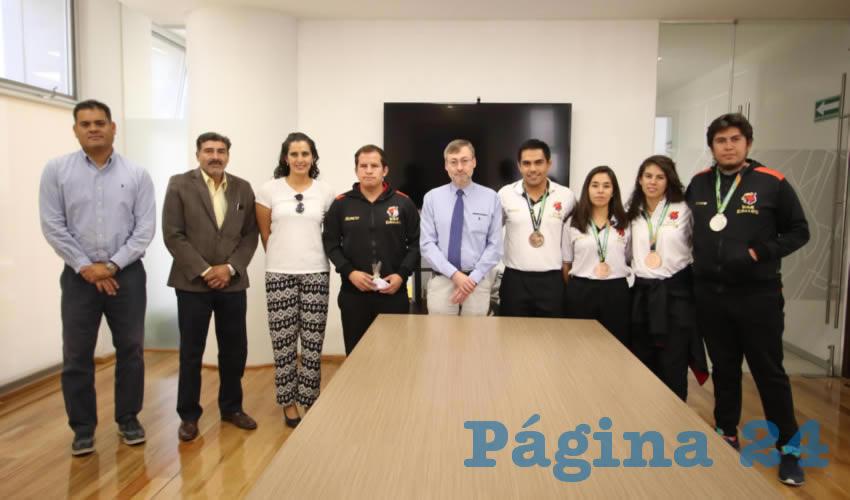 Estudiantes de la Universidad Autónoma de Aguascalientes lograron obtener una medalla de plata y tres más de bronce en la edición número 22 de la Universiada