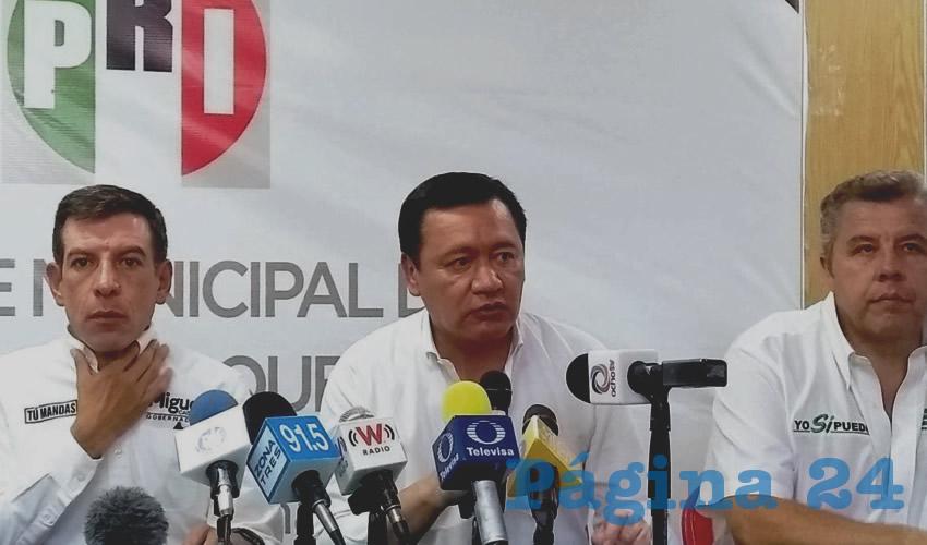Violencia es culpa de la oposición: Osorio Chong
