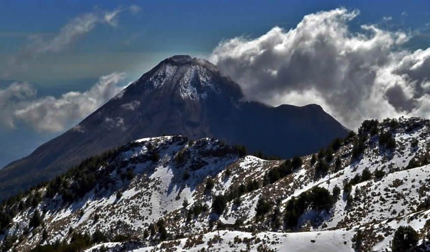 Los ciclos de los volcanes Ceboruco y Nevado de Colima han llegado a su límite, por lo que se debe estar alerta a pesar de que los mismos ciclos no son tan exactos/Foto: Cortesía
