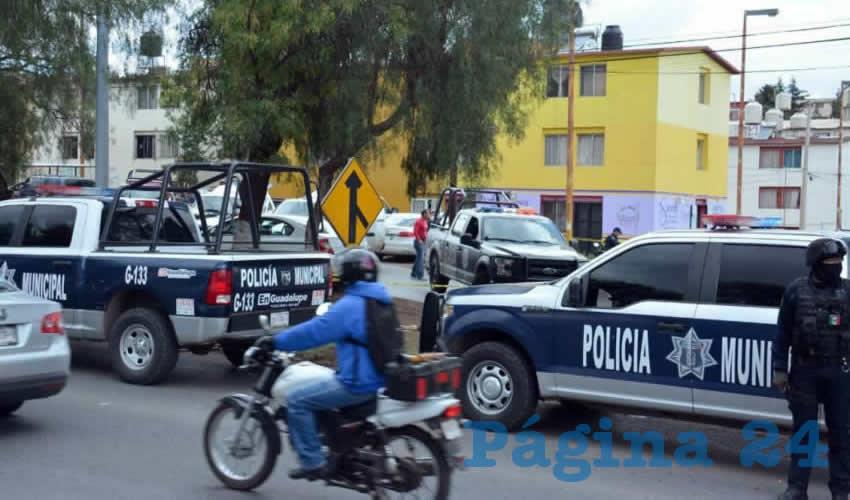 El asesinato se dio a plena luz del día y hasta el momento, como sucede en estos casos no hay detenidos (foto: cortesía)