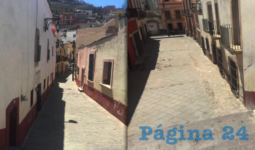 Estos callejones son tan sólo una muestra del abandono en que están, pese a que integran el nombramiento de Patrimonio Cultural de la Humanidad por la UNESCO, que se otorgó a la ciudad en 1993. (Foto: Cristo González)